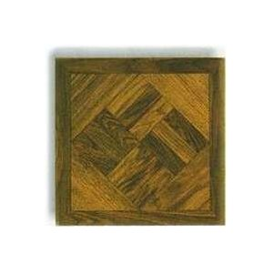 Mintcraft Dark Wood Geo Vinyl Floor Tile