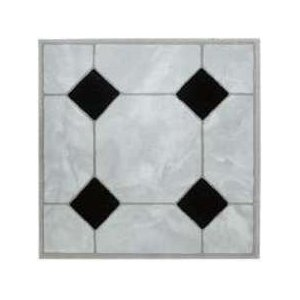 Mintcraft Gray Marble Vinyl Floor Tile
