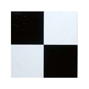 Mintcraft Black/White Vinyl Floor Tile