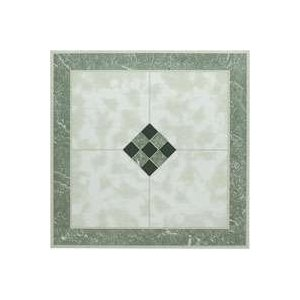 Mintcraft Ele Green Diamond Vinyl Floor Tile
